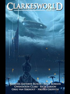 "Clarkesworld, February 2014, containing ""The Three Resurrections of Jessica Churchill"" by Kelly Robson."