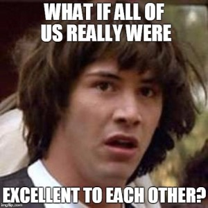 Conspiracy Keanu is into peace and love.
