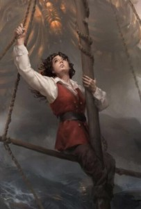 "cover image for ""The Nature of a Pirate,"" by Cynthia Sheppard"